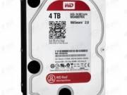 "Winchester - Western Digital 3.5"" HDD SATA-III 4TB 7200rpm 64MB Cache, CAVIAR Red (WD40EFRX) fotó"