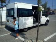 Személyszállítás, fuvarozás 8 fős kisbusszal korrekt áron !