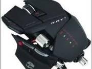 Saitek MadCatz Cyborg R.A.T.9 Gaming Mouse Black Laser, Cordless, USB, Black, 6400DPI fotó