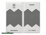 Samsung Galaxy Note 3 Nicholas Kirkwood Wallet Flip Cover White fotó
