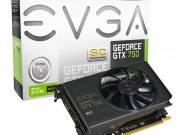 EVGA GeForce GTX 750 2GB DDR5 (Superclocked) nVidia, PCIE, GPU: 1215/1294MHz, RAM: 5012MHz, 2GB, DDR5, fotó