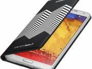 Samsung Galaxy Note 3 Moschino Wallet Flip Cover Black/White fotó