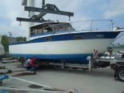 13 m hosszú hajó eladó