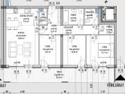 Eladó 96.51m² új építésű tégla lakás, Győr, Nádorváros