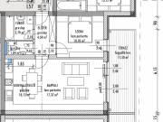 Eladó 54.08m² új építésű tégla lakás, Győr, Nádorváros