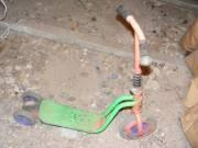 Roller, és teknős motor, és hintaló