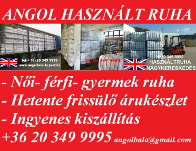 9fe449bc5f Angol használtruha nagykereskedés - Diszkont árak! - Budapest XV. kerület -  Ruházat, Ruha