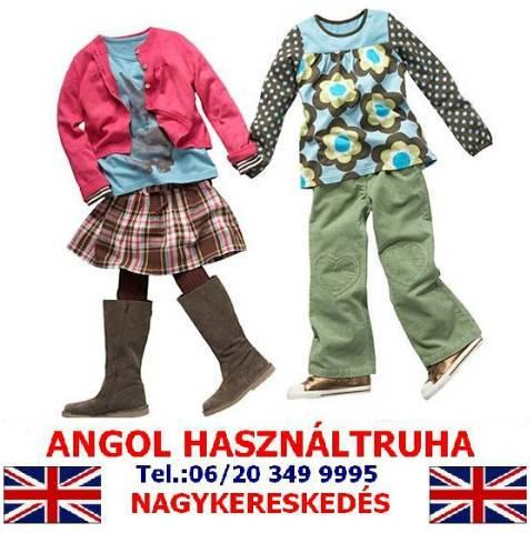 ba65f5a3b5 Minőségi márkás Angol használt gyerekruha bála eladó / TAVASZI- NYÁRI /