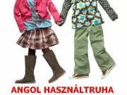 Minőségi márkás Angol használt gyerekruha bála eladó / SZEZONÁLIS /
