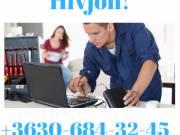 Számítógép szerviz 11. kerület + Újbuda + XI. kerület házhoz ingyenes kiszállással.