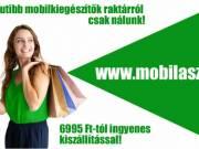 Mobiltok, üvegfólia, qi töltő, okostelefon kiegészítők raktárról