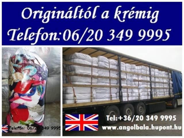 1848531901 Tavaszi angol használt ruha vásár! 06 20 349 9995 - Szolnok, Jász ...