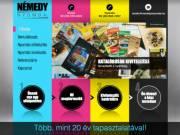 arculattervezés nyomdai előkészítés kiadványszerkesztés grafikai stúdió Bp nyomda XVI ker