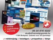 katalógus készítés Némedy Nyomda Budapest 06 20 976 4222