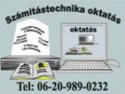SZÁMÍTÁSTECHNIKA MAGÁNOKTATÁS! 06(20)989-0232