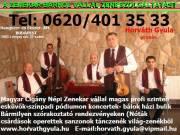 Magyar cigány népi zenekar