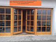 Fa erkély ajtók Bejárati ajtók gyártása