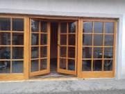 Fa Emelő-toló és Toló-bukó erkélyajtók bejárati ajtók gyártása!