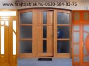 Fa ablakok ajtók gyártása Budapesten!