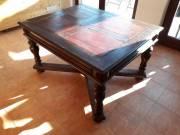 Régi tölgyfa asztal elado