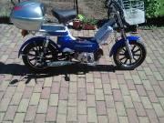 Benzinmotor rásegítéses kerékpár
