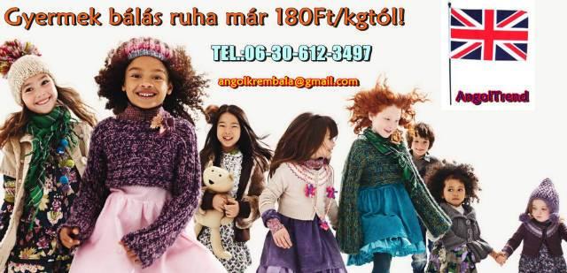Gyermek használt bálás ruha eladó 180Ft kg - Szekszárd - Ruházat c2f58b4eb9