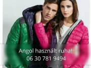 Őszi-Téli  Angol használt ruha akció!