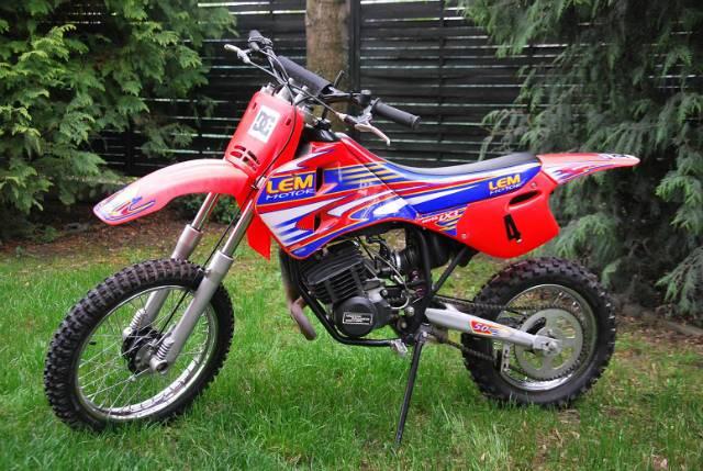 Gyerek cross motor 50ccm eladó