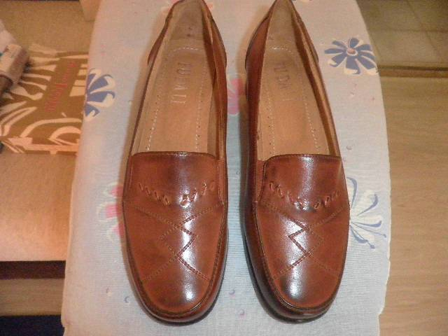 7569430767 Új női cipő 37 méret bőr felső és belső Konyak szín - Siófok, Koch ...