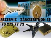 Zárszerviz- Zárcsere i. kerület