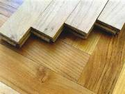 Valódi fából készült parketták fotó