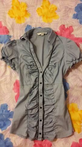 6562cd905d Tally Weijl márkájú, 32/XXS méretű, kék színű női blúz/ing eladó ...