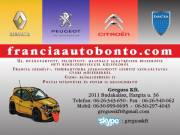 Renault-Dacia-Peugeot-Citroen bontó! fotó