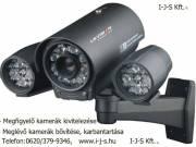 Riasztó és kamerarendszerek kivitelezése, javítása!