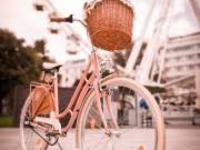 Eladó Vintagebringa.Klasszikus Női városi kosaras kerékpár.Csajos vintage  bringa.Kényelmes-retro 98480ec72f