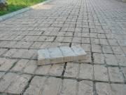 Téglautánzatú beton térkő eladó fotó