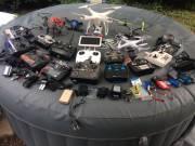 Drónok irányitó konzolok kamerák akkumulátorok kiegászítők alkatrészek