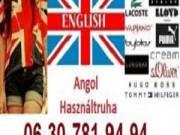 Angol minőségi használtruha