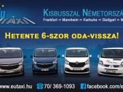EuTAXI - Személyszállítás kisbusszal Németországba!