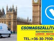 Csomagszállítás, költöztetés Magyarország- London