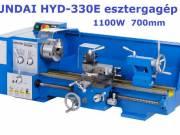 Hyundai HYD-330E esztergagép, eszterga 1100W 700mm csúcstáv 511.811.-Ft+Áfa = 650.000.-Ft fotó