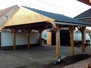 Faház, Szerszámtároló, Fa garázsok, autóbeálló, Kerti bútorok,Nyaralók, Kerítést készítést vállalunk