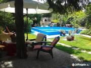 Balatonboglár 10 fős medencés nyaraló rész kiadó!