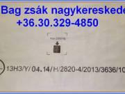 Bigbag zsák ADR UN13H3/Y 1.000 kg. +36.20/536-0088 rendelhető UN 3077 BIG BAG zsák nagykereskedés
