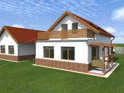 Szombathely északi részén ÚJ CSOK ház 95 m2 -es terasszal, beállóval eladó!
