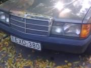 190-es diesel mercedes 1987 veterán
