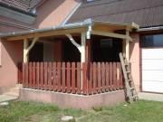 Terasz, elő tető, filagóriák, faházak