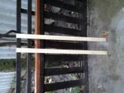 Eladó új kerítés léc illetve tető fólia lefogató léc.