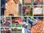 Népi fajátékok, nagyméretű népi játékok kitelepítése
