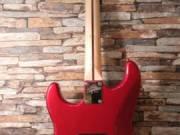 Fender Squier Contemporary Stratocaster HH MN Dark Metallic Red 2018-as aszolút kopásmentes szobában